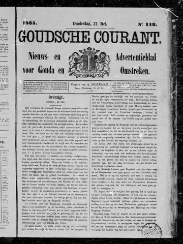 Goudsche Courant 1863-05-21
