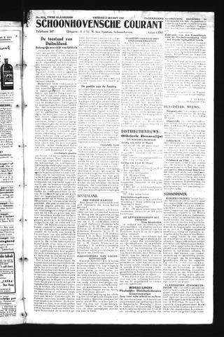 Schoonhovensche Courant 1945-03-02