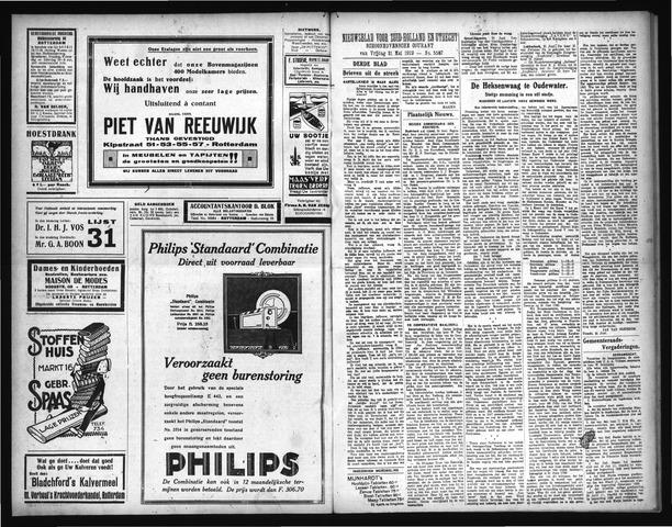 Schoonhovensche Courant 1929-07-01