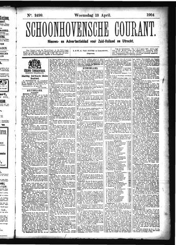 Schoonhovensche Courant 1904-04-13
