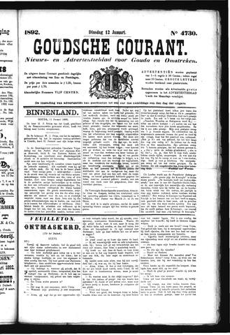 Goudsche Courant 1892-01-12