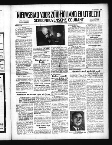 Schoonhovensche Courant 1951-01-08