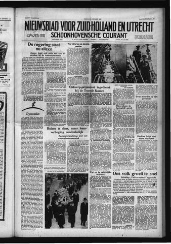 Schoonhovensche Courant 1958-10-31