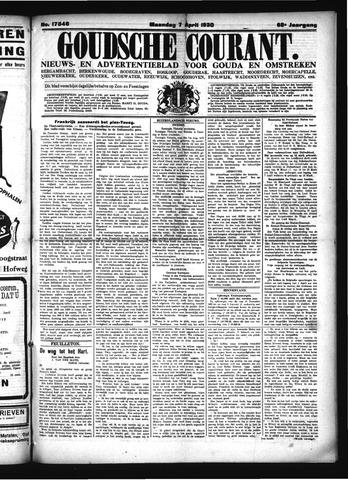 Goudsche Courant 1930-04-06