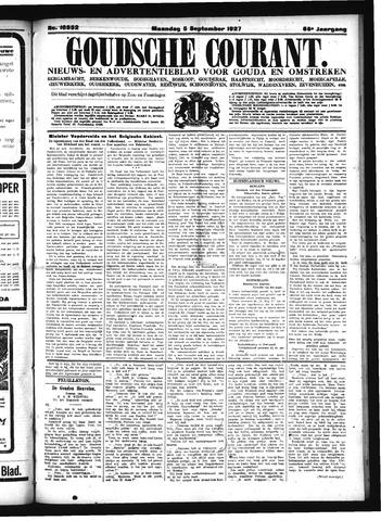 Goudsche Courant 1927-09-05