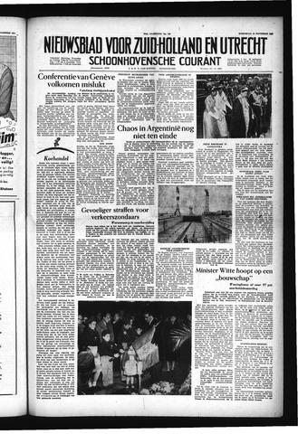 Schoonhovensche Courant 1955-11-16