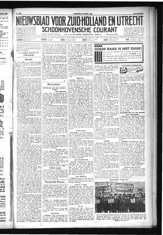 Schoonhovensche Courant 1932-01-25