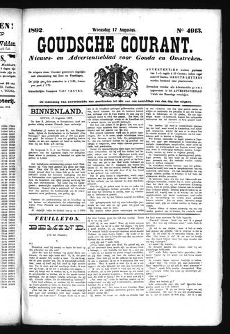 Goudsche Courant 1892-08-17
