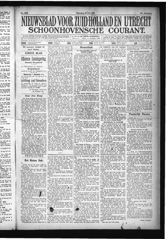 Schoonhovensche Courant 1929-07-29