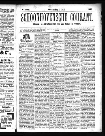 Schoonhovensche Courant 1899-07-05
