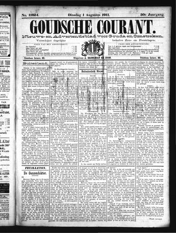 Goudsche Courant 1911-08-01