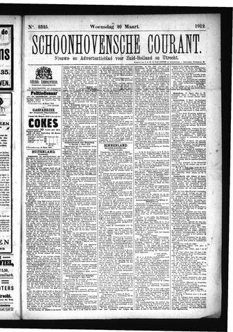 Schoonhovensche Courant 1912-03-20