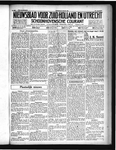 Schoonhovensche Courant 1935-03-27