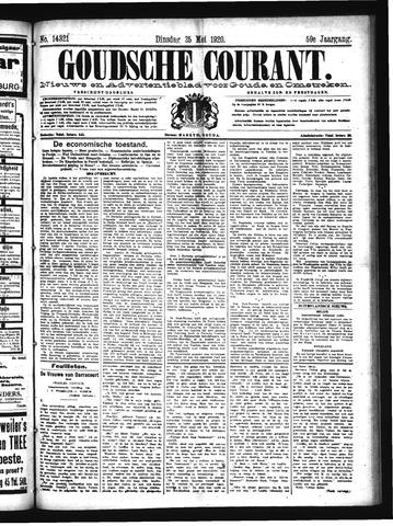 Goudsche Courant 1920-05-25