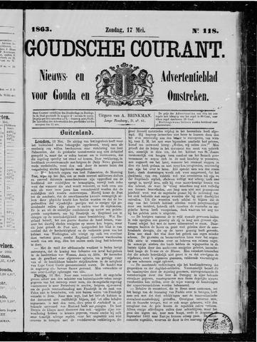 Goudsche Courant 1863-05-17
