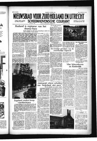Schoonhovensche Courant 1956-08-06