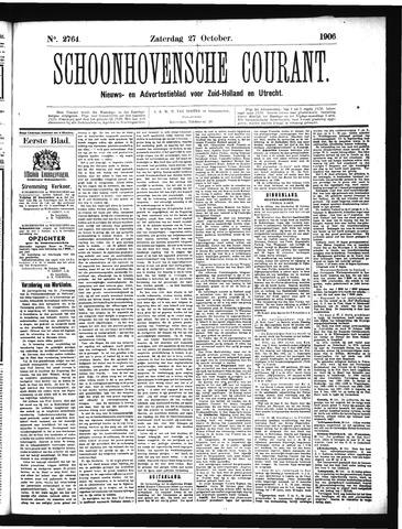 Schoonhovensche Courant 1906-10-27