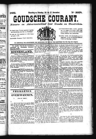 Goudsche Courant 1892-12-27