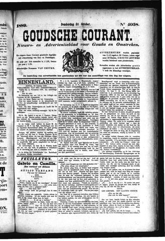 Goudsche Courant 1889-10-31