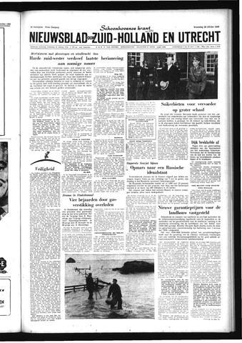 Schoonhovensche Courant 1959-10-28
