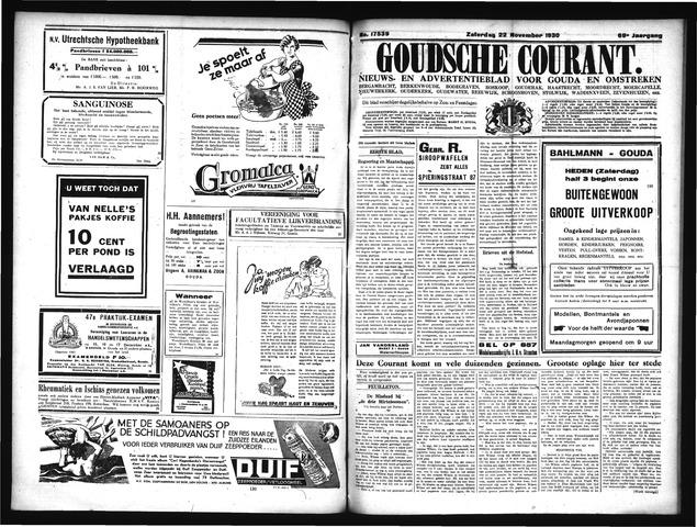 Goudsche Courant 1930-11-22