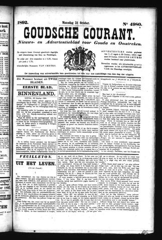 Goudsche Courant 1892-10-31
