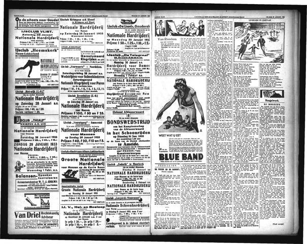 Schoonhovensche Courant 1933-01-28