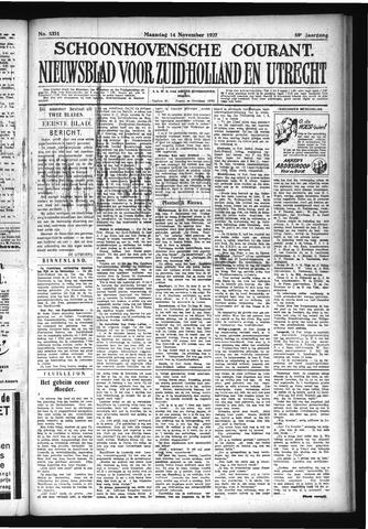 Schoonhovensche Courant 1927-11-14