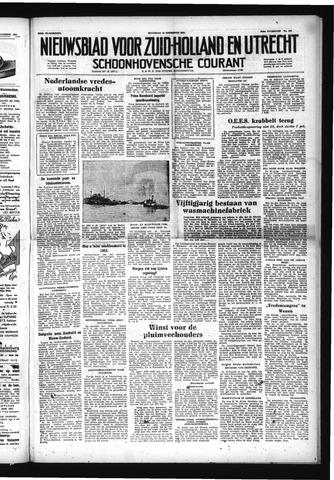 Schoonhovensche Courant 1952-12-15