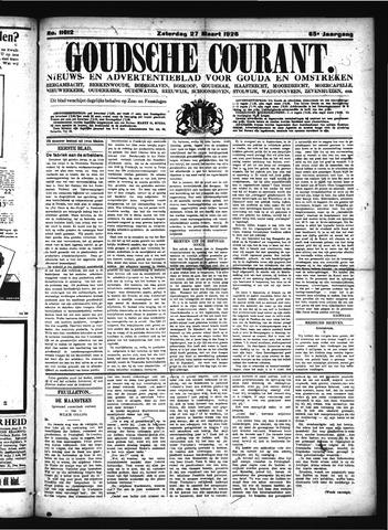 Goudsche Courant 1926-03-27