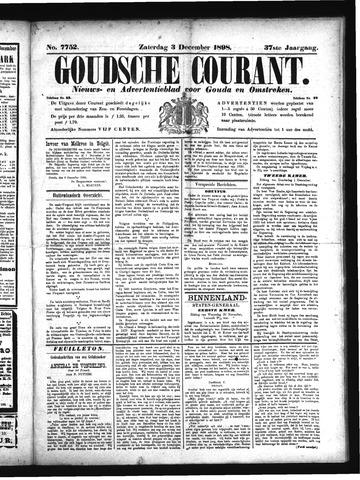 Goudsche Courant 1898-12-03