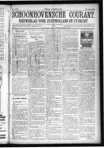 Schoonhovensche Courant 1926-10-08