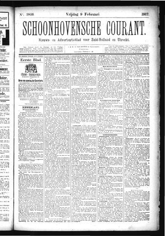 Schoonhovensche Courant 1917-02-09