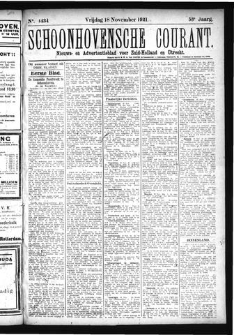 Schoonhovensche Courant 1921-11-18