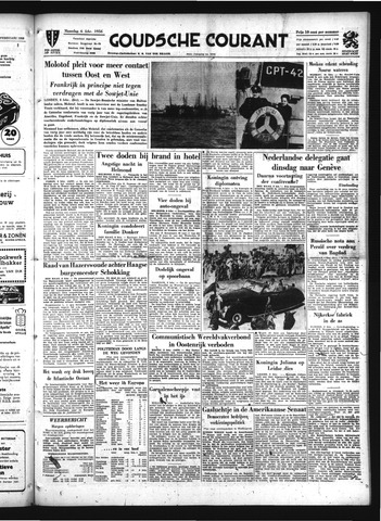 Goudsche Courant 1956-02-06