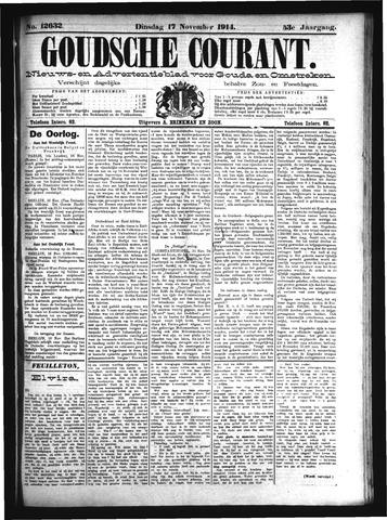 Goudsche Courant 1914-11-17