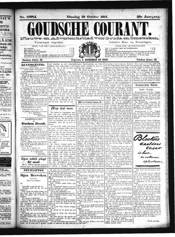 Goudsche Courant 1911-10-10