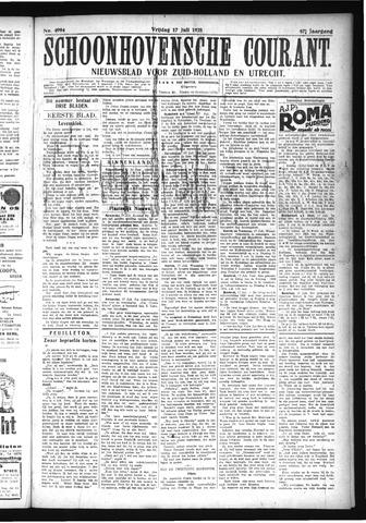 Schoonhovensche Courant 1925-07-17