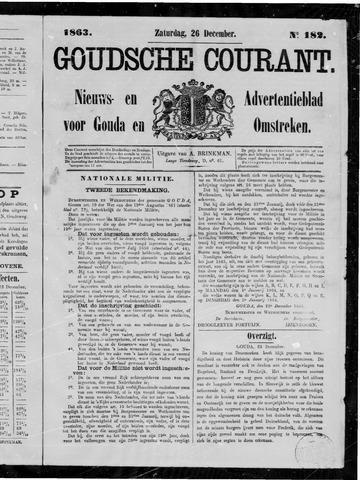 Goudsche Courant 1863-12-26