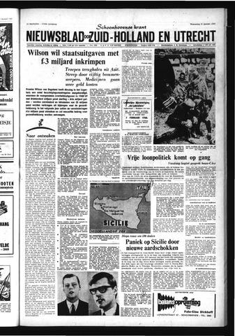Schoonhovensche Courant 1968-01-17