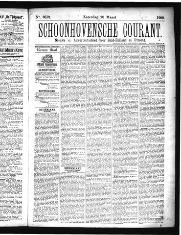 Schoonhovensche Courant 1909-03-20