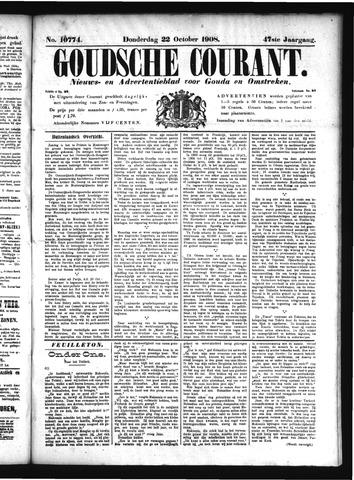 Goudsche Courant 1908-10-22