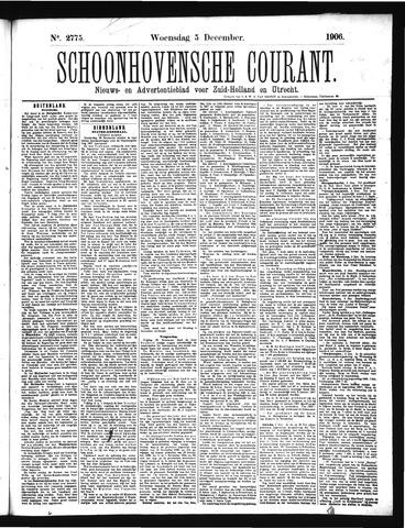 Schoonhovensche Courant 1906-12-05