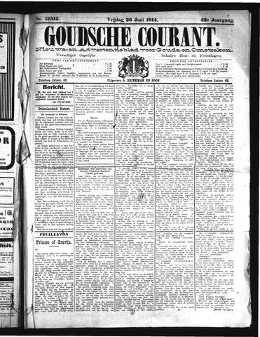 Goudsche Courant 1914-06-26
