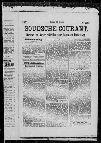 Goudsche Courant 1871-10-29