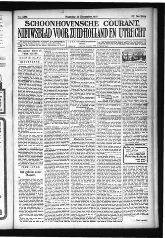 Schoonhovensche Courant 1927-12-19