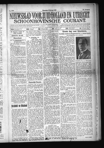 Schoonhovensche Courant 1929-02-06