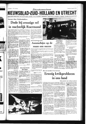 Schoonhovensche Courant 1971-08-02