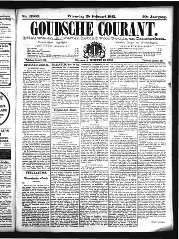 Goudsche Courant 1912-02-28