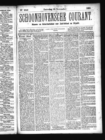 Schoonhovensche Courant 1899-11-25